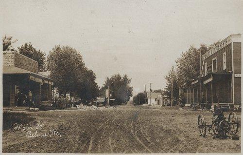 Main Street, Belvue, Kansas - Page