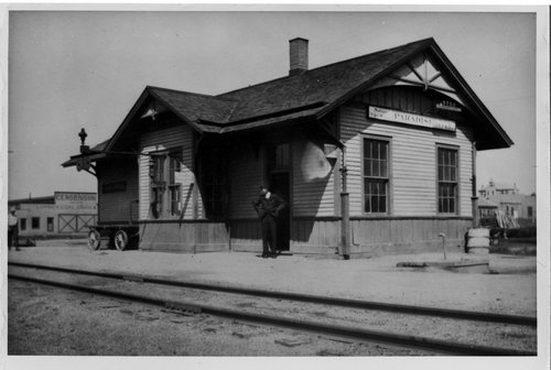 Union Pacific Railroad Company depot, Paradise, Kansas - Page