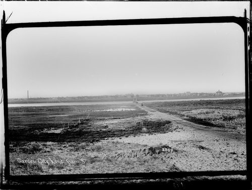 View of Garden City from south, Finney County, Kansas - Page