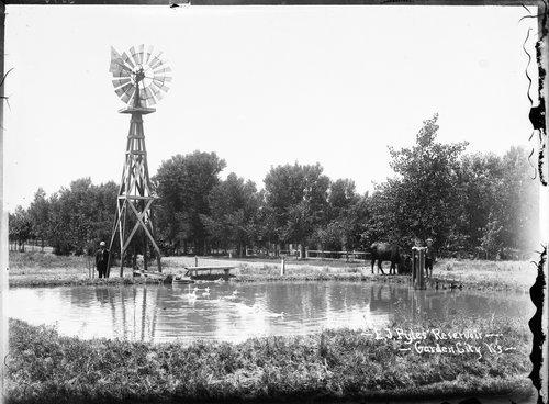 E.J. Pyles' reservoir, Garden City, Finney County, Kansas - Page