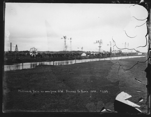 Portion of fair, Finney County, Kansas - Page