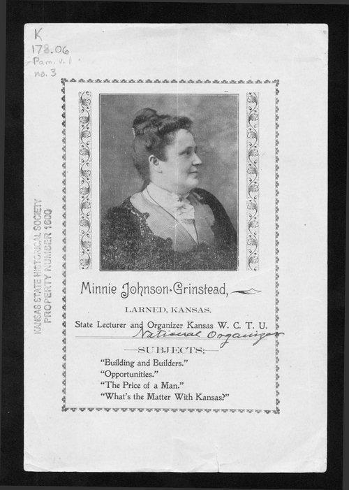 Minnie Johnson Grinstead - Page