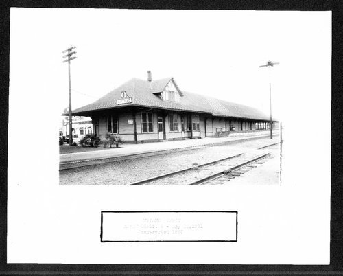 Atchison, Topeka & Santa Fe Railway Company depot, Upland, California - Page