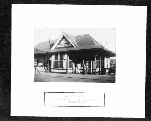 Atchison, Topeka & Santa Fe Railway Company depot, San Onofre, California - Page