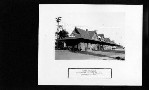 Atchison, Topeka and Santa Fe Railway Company depot, Santa Ana, California - Page