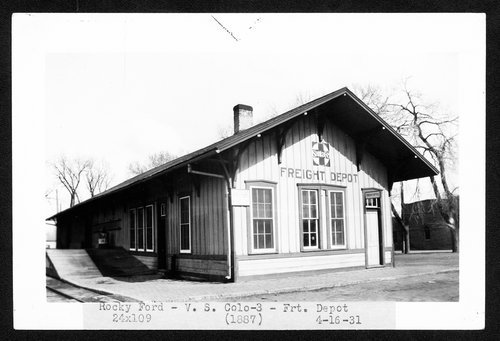 Atchison, Topeka & Santa Fe Railway Company's freight depot, Rocky Ford, Colorado - Page