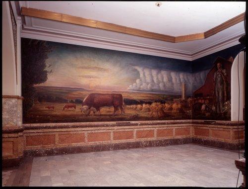 Kansas Pastoral mural - Page