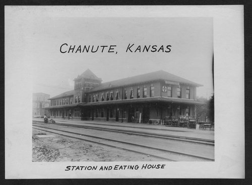 Atchison, Topeka and Santa Fe Railway Company depot and Fred Harvey House, Chanute, Kansas - Page