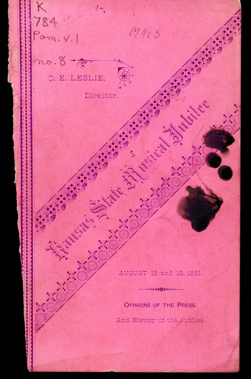 Kansas State Musical Jubilee - Page