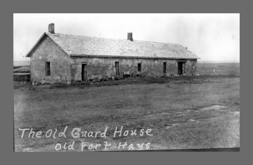 Old guardhouse, Fort Hays - Page