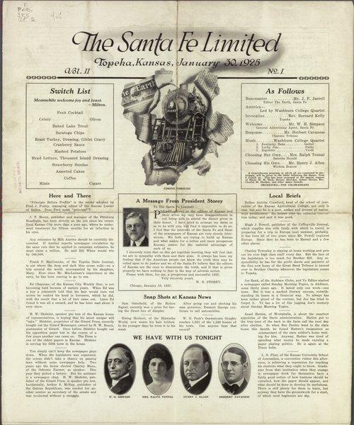 The Santa Fe limited, Topeka, Kansas - Page