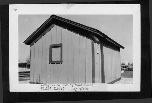 Atchison, Topeka & Santa Fe Railway Company tool house, Vado, New Mexico - Page