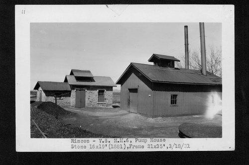 Atchison, Topeka & Santa Fe Railway Company pump house, Rincon, New Mexico - Page