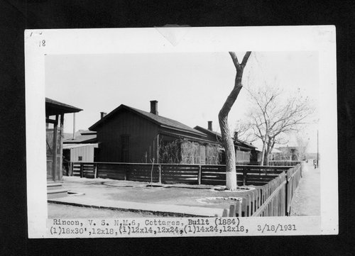 Atchison, Topeka & Santa Fe Railway Company cottages, Rincon, New Mexico - Page