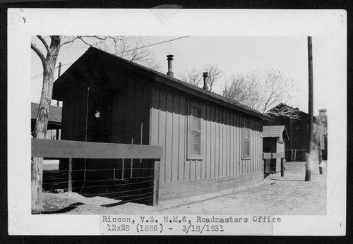 Atchison, Topeka & Santa Fe Railway Company's roadmaster office, Rincon, New Mexico - Page