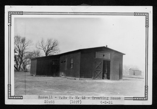 Atchison, Topeka & Santa Fe Railway Company water treatment plant, Roswell, New Mexico - Page