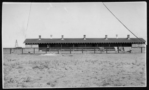 Atchison, Topeka & Santa Fe Railway Company section house, Boise City, Oklahoma - Page