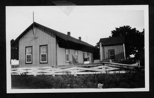 Atchison, Topeka & Santa Fe Railway Company section house, Berwyn, Oklahoma - Page