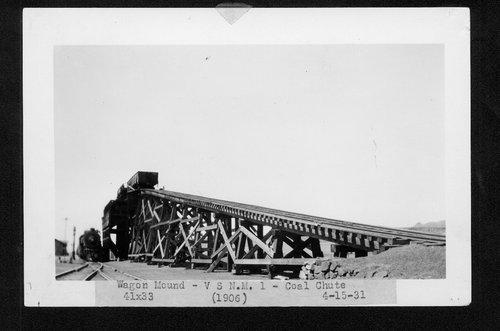 Atchison, Topeka & Santa Fe Railway Company coal chute, Wagon Mound, New Mexico - Page