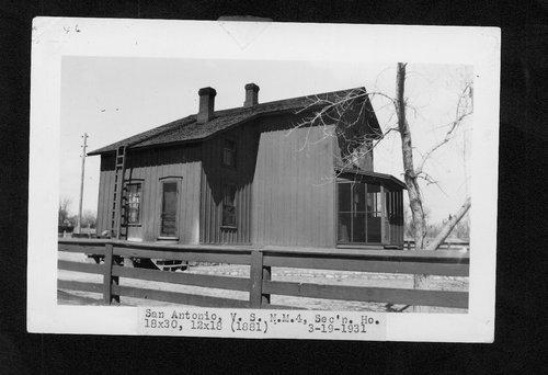 Atchison, Topeka & Santa Fe Railway Company section house, San Antonio, New Mexico - Page