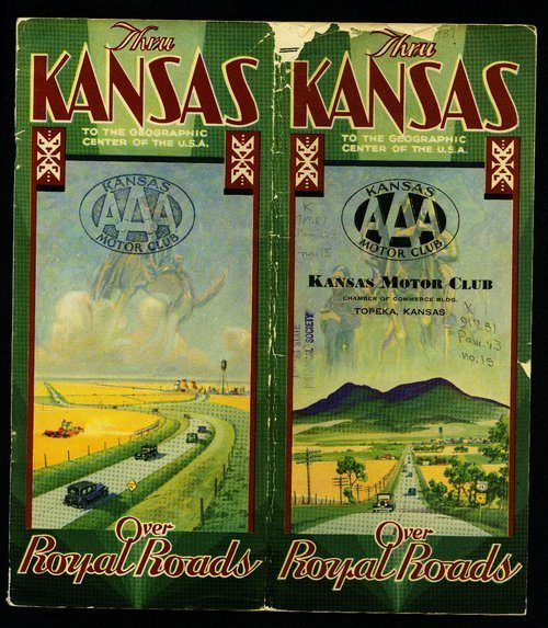 Folks who live in Kansas present this booklet and guide so that you may see their wonderful state . . . - Page