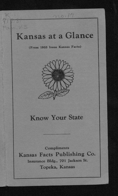 Kansas at a glance - Page