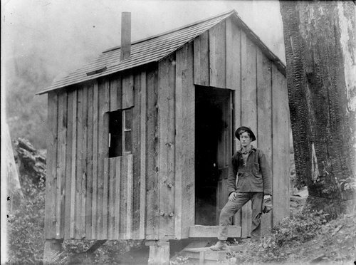 Claim cabin possibly near Burrton, Harvey County, Kansas - Page