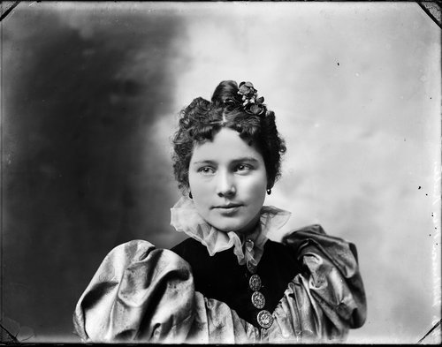 Unidentified woman, Kansas - Page