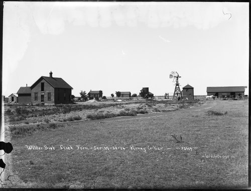 Wilder Brother's stock farm, Finney County Kansas - Page