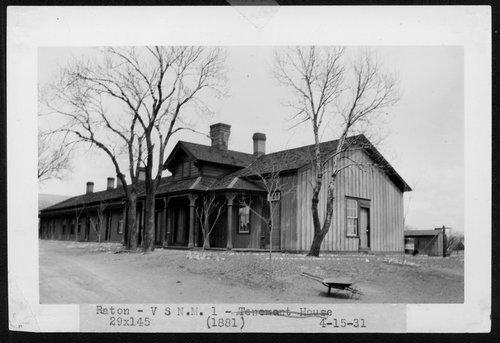 Atchison, Topeka & Santa Fe Railway Company section house, Raton, New Mexico - Page