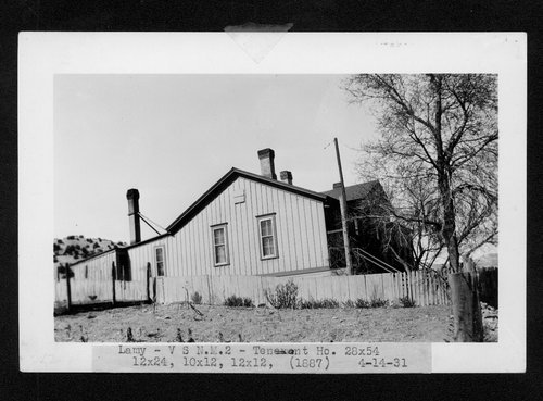 Atchison, Topeka & Santa Fe Railway Company section house, Lamy, New Mexico - Page