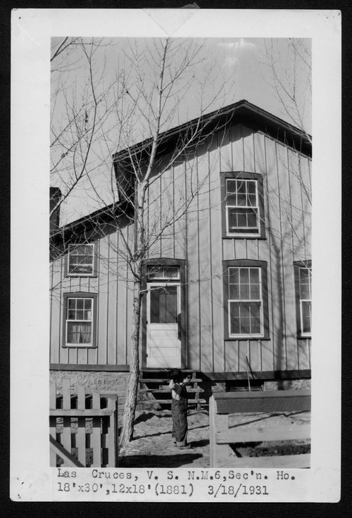 Atchison, Topeka & Santa Fe Railway Company section house, Las Cruces, New Mexico - Page