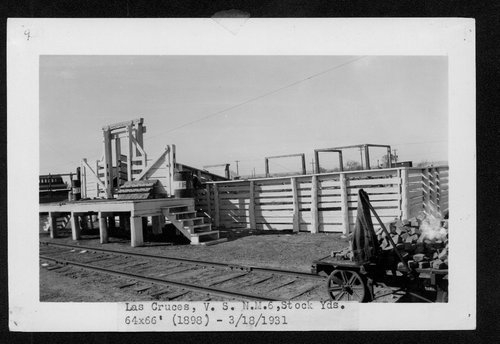 Atchison, Topeka & Santa Fe Railway Company stock pens, Las Cruces, New Mexico - Page