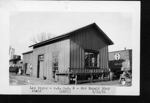 Atchison, Topeka & Santa Fe Railway Company car shop, Las Vegas, New Mexico - Page