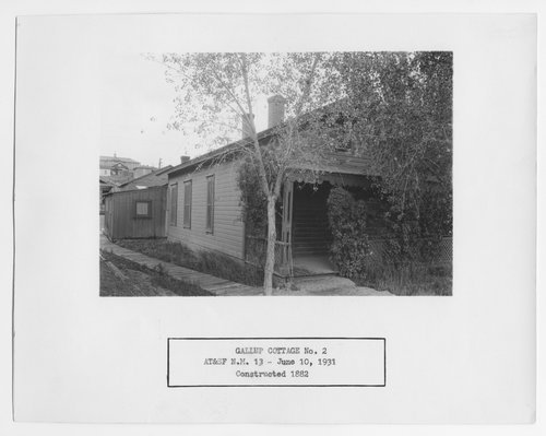 Atchison, Topeka & Santa Fe cottage no.2, Gallup, New Mexico - Page