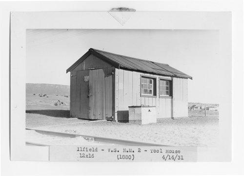 Atchison, Topeka & Santa Fe Railway Company tool house, Ilfeld, New Mexico - Page