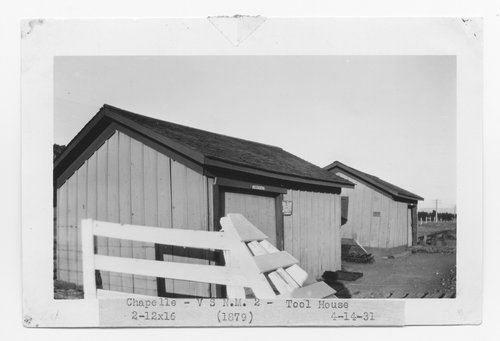 Atchison, Topeka & Santa Fe Railway Company tool house, Chapelle, New Mexico - Page