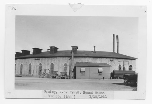 Atchison, Topeka & Santa Fe Railway Company round house, Deming, New Mexico - Page