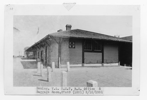 Atchison, Topeka & Santa Fe Railway Company's road masters office, Deming, New Mexico - Page