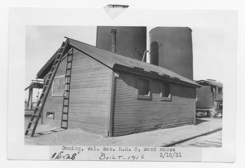 Atchison, Topeka & Santa Fe Railway Company sand house, Deming, New Mexico - Page
