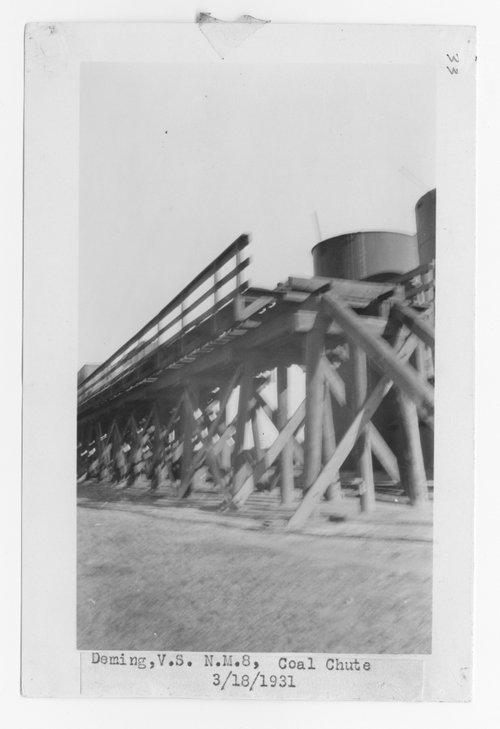 Atchison, Topeka & Santa Fe Railway Company coal chute, Deming, New Mexico - Page