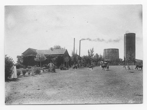 Atchison, Topeka and Santa Fe Railway Company pumping plant, Carlsbad, New Mexico - Page