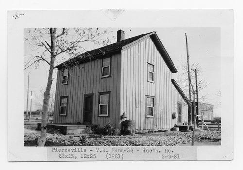 Atchison Topeka & Santa Fe Railway Company section house, Pierceville, Kansas - Page