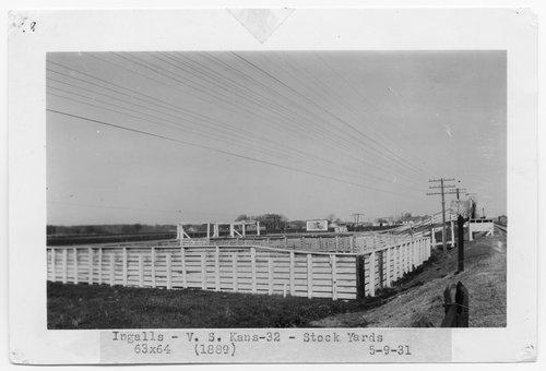 Atchison, Topeka & Santa Fe Railway Company stockyards, Ingalls, Kansas - Page