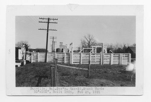 Atchison, Topeka & Santa Fe Railway Company stockyards, Danville, Kansas - Page