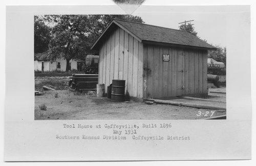 Atchison, Topeka & Santa Fe Railway Company tool house, Coffeyville, Kansas - Page