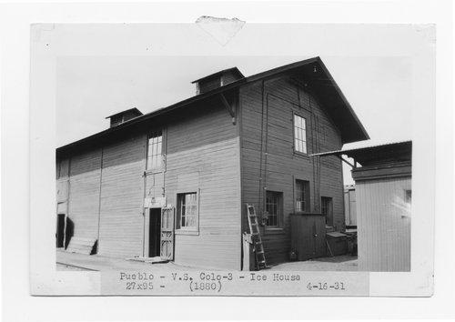 Atchison, Topeka & Santa Fe Railway Company ice house, Pueblo, Colorado - Page
