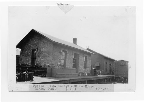 Atchison Topeka & Santa Fe Railway storehouse, Pueblo, Colorado - Page