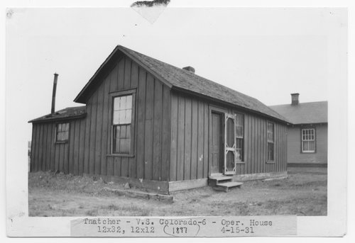 Atchison, Topeka & Santa Fe Railway Company agent operator's house, Thatcher, Colorado - Page