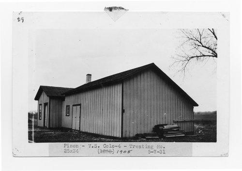 Atchison, Topeka & Santa Fe Railway Company water treatment plant, Pinon, Colorado - Page